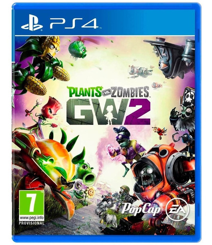 plants vs zombies gw2 - físico - ps4 - play for fun