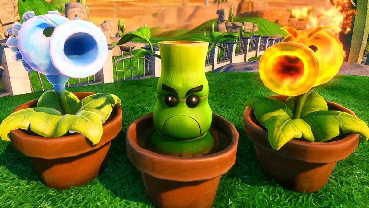 Plants Vs Zombies Gw2 Garden Warfare 2 Ps4 Pt Br R 244
