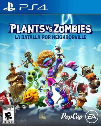 plants vs zombies la batalla de n. ps4 fisico