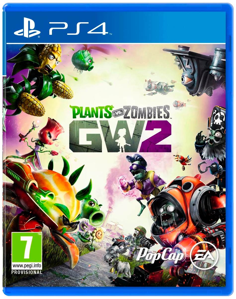 Plants Vs Zombies Ps4 Gw2 Fisico Envio Gratis Alclick 1 490