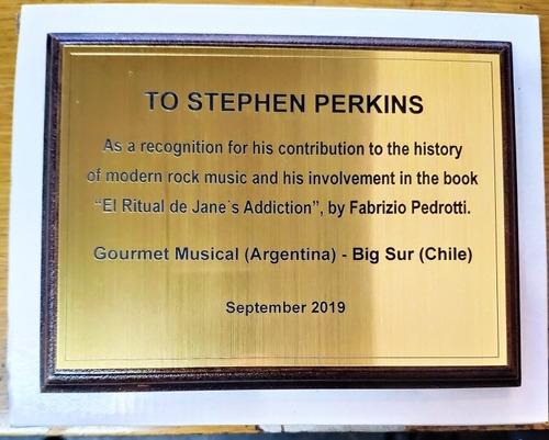 plaqueta 20 x 15 placa grabado incluido