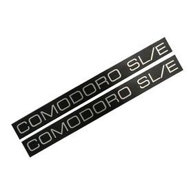 Plaqueta Lateral Comodoro Sl/e - Opala Caravan 88/89