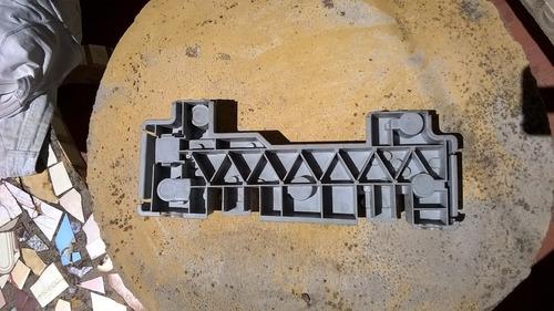 plaqueta / zocalo / porta-lamparas ford taunus/falcon