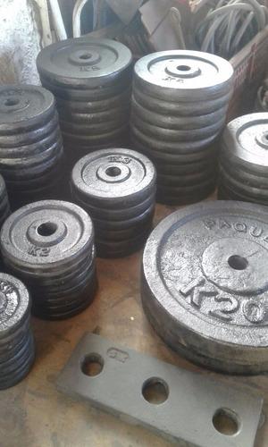 plaquetas ladrillos para poleas de hierro