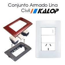 plaquetas para luz tomas llaves con diseños y colores