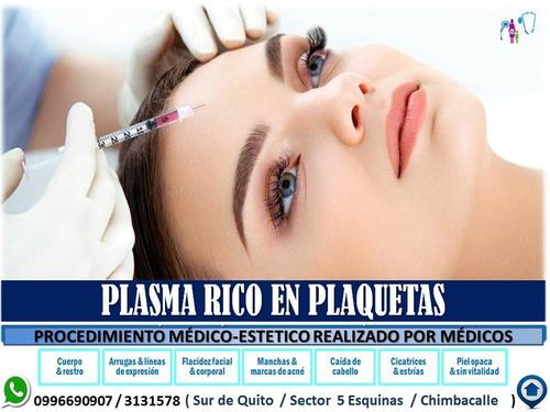 plasma rico en plaquetas piel, acné,manchas,calvicie