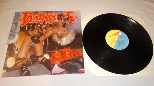 plasmatics - metal priestess '81 (vinilo:ex - cover:ex)