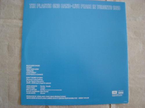 plastic ono band live peace toronto 69 lp beatles rmklps