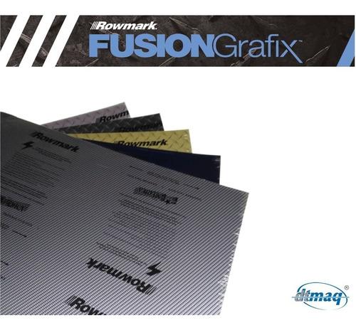 plástico bicapa laserable rowmark fusiongrafix 123x61cm docn