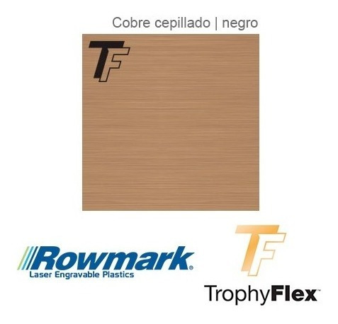 plástico bicapa laserable rowmark trophyflex autohadesivo 3m
