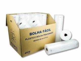 plástico bolha 0.60 x 10m - atco
