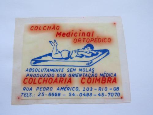 plástico - colchoaria coimbra - anos 60