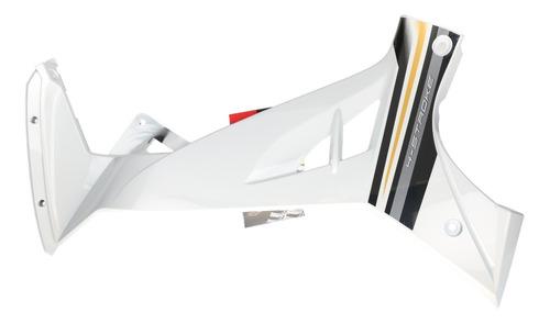 plastico lateral izquierdo blanco yamaha crypton 110 + calco
