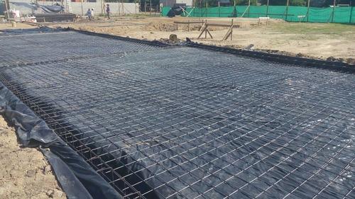 plástico negro 3 mts ancho x 30 largo cal6 impermeabilizante