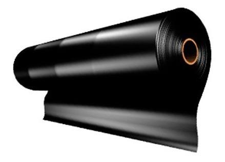 plastico negro 3mts ancho*1mt cal 2 (rllo 100mt) 14.5kg plas