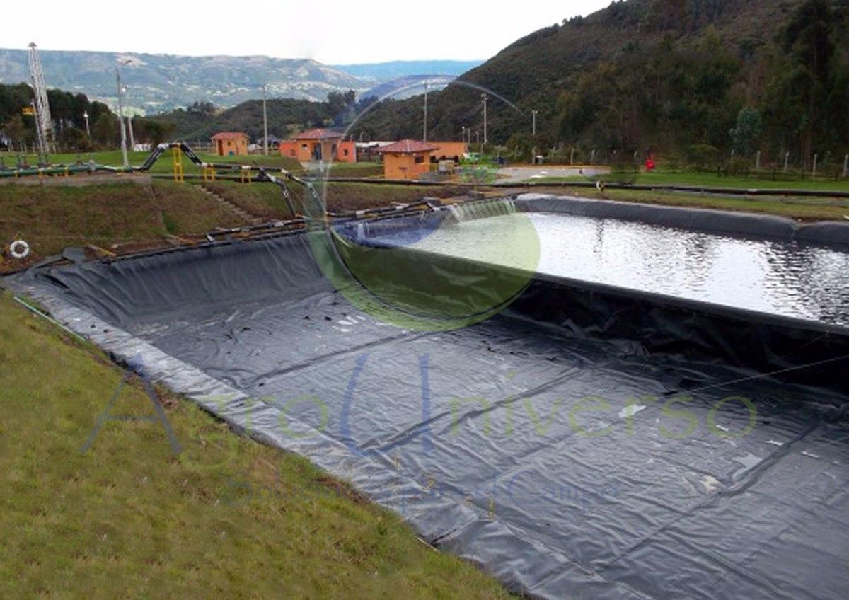 plastico negro polietileno calibre 600 de 2 3 4 6 8 ForPlastico Para Impermeabilizar Lagunas