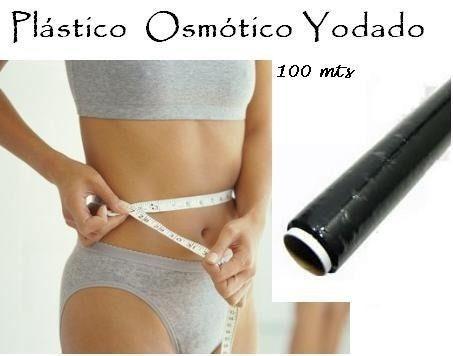 plástico osmótico yodado x 100 mts - para adelgazar