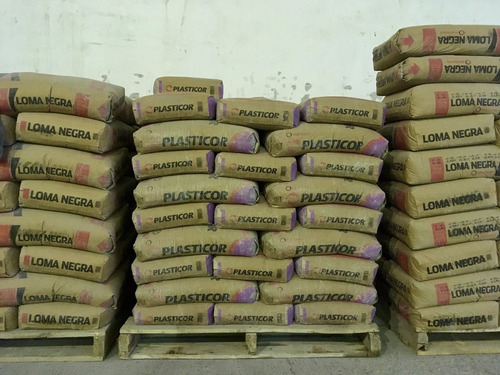 plasticor loma negra - cemento de albañilería - bolsa 40 kg