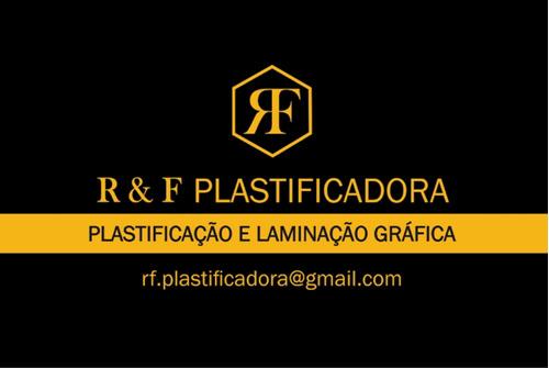 plastificação e laminação gráfica