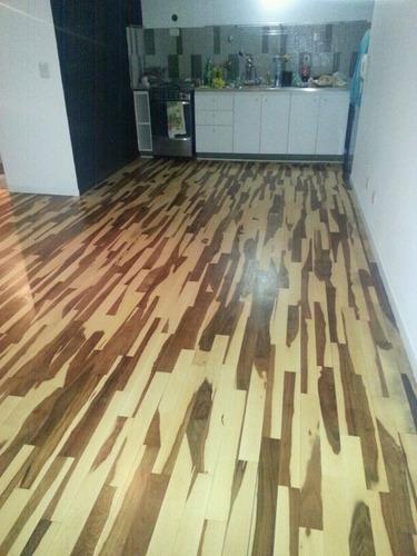 plastificado hidrolaqueado pisos de madera (sin adelanto)