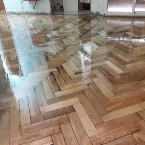 plastificado piso pulido