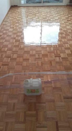 plastificado pisos. pulido