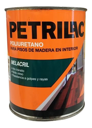 plastificador piso madera melacril petrilac 4l pintumm