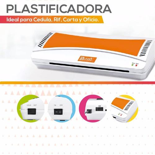 plastificadora cedula carnet carta oficio hasta 200 micrones