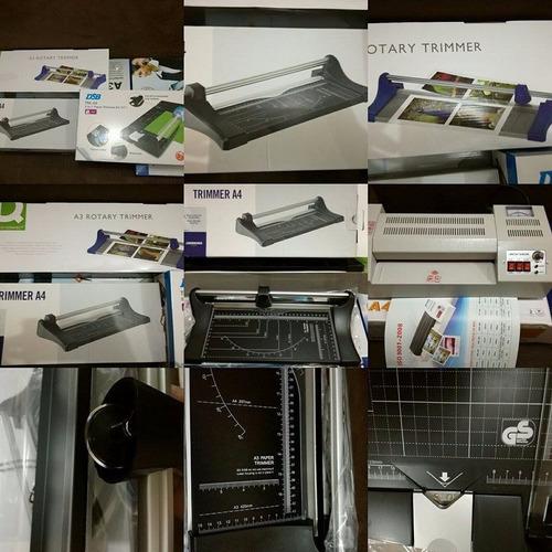 plastificadora espiraladora guillotina oferta a4 cyber promo