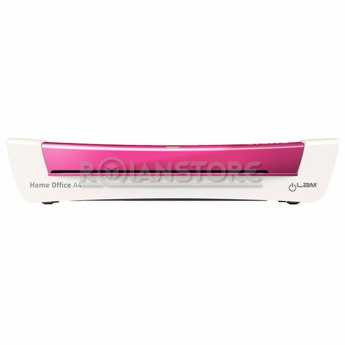 plastificadora leitz ilam home-office a4 colores rosado azul