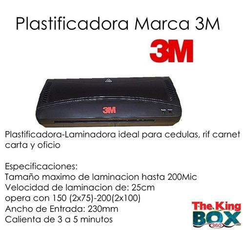 plastificadora marca 3m