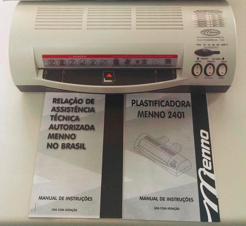 plastificadora menno a4 2401 - 127v