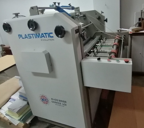 plastificadora semi automatica - lch - plastimatic evolution