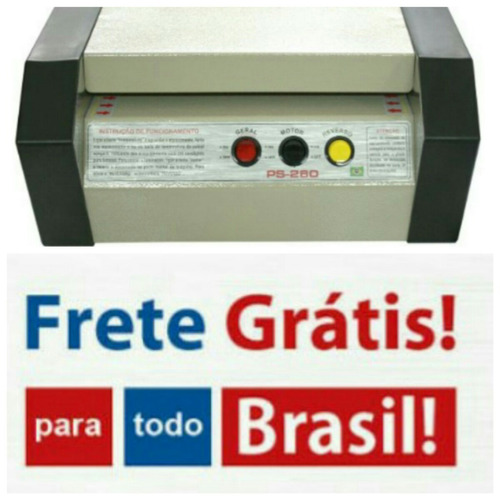 plastificadoras ps 280 prof +300 rg frete grátis p/ brasil
