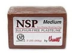 plastilina  para moldear chavant  2 libras