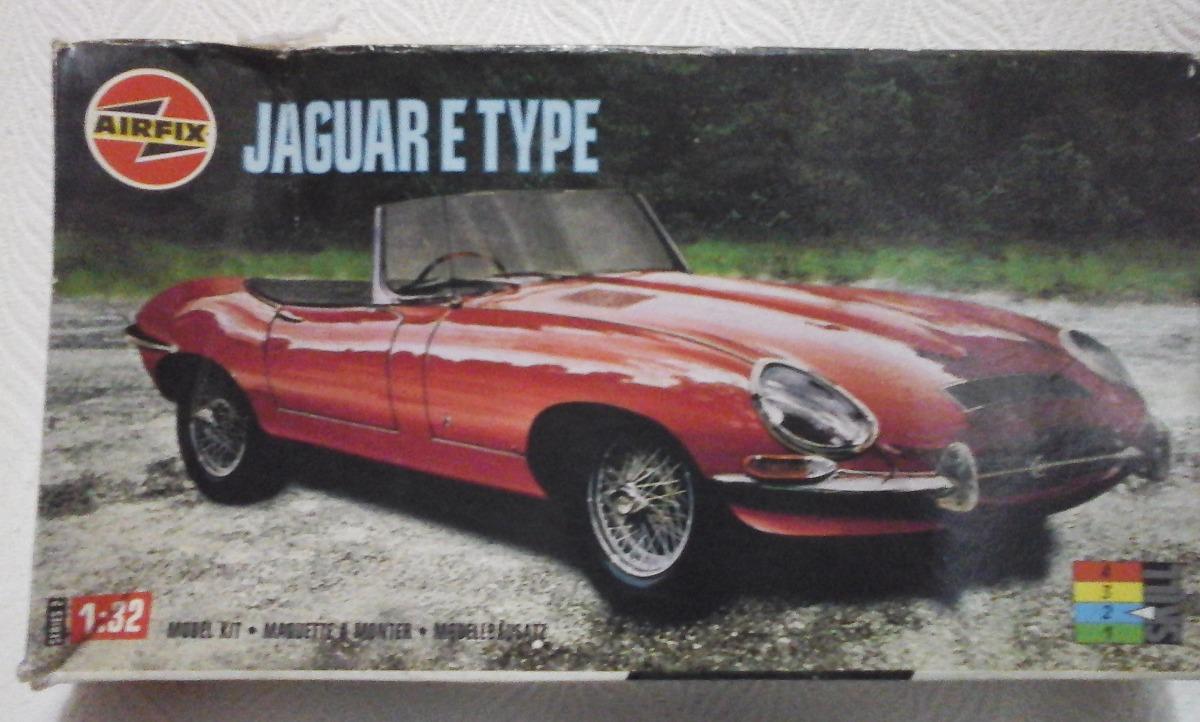 Plastimodelismo Jaguar E Type 1:32 Airfix1. Carregando Zoom.