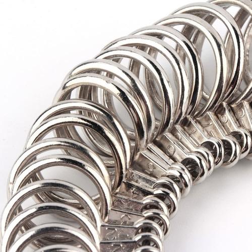 plata anillo-sizer medidor herramienta medicin de dedo m