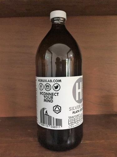 plata coloidal 1 litro 20 ppm certificada envio gratis!