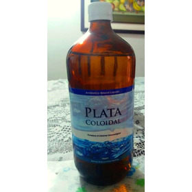 Plata Coloidal 18ppm - 1000ml Botella - Fabricada A Pedido