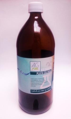 plata coloidal 2 litros envío gratis 20/25/30 ppm certificad