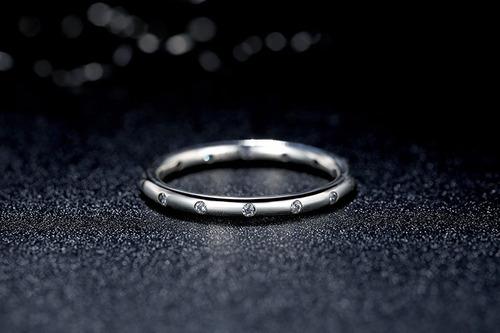plata /joya anillo