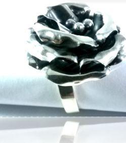 plata joya anillo plata