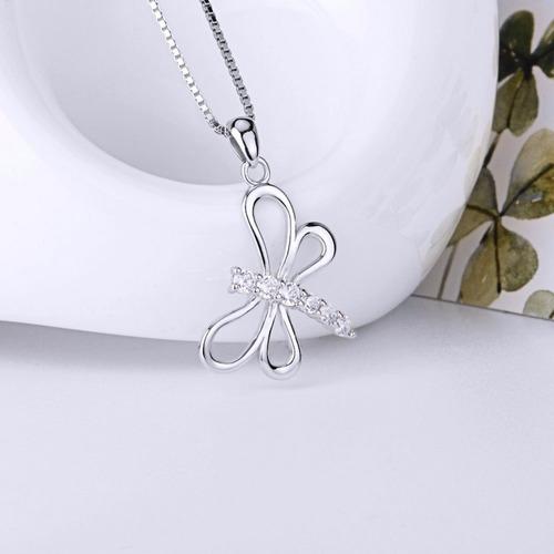 plata joya collar