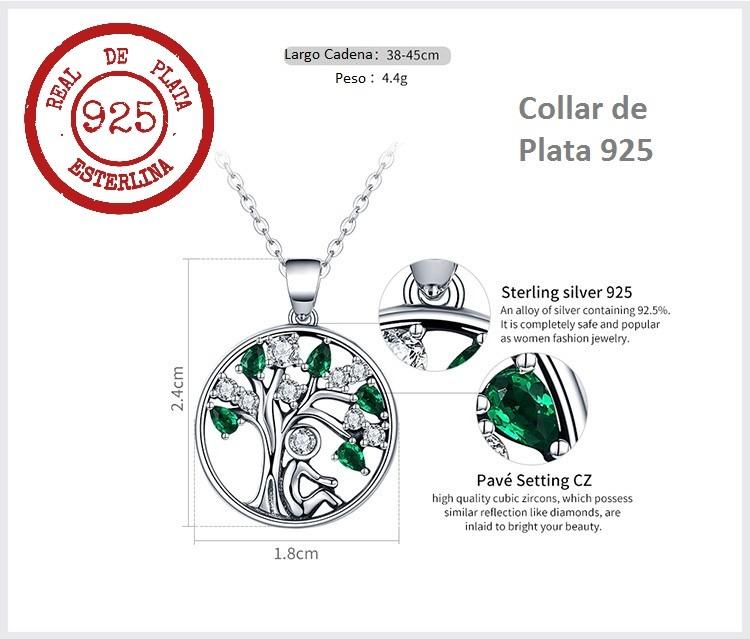 08b43bfeac96 collar plata árbol de la vida estilo pandora   arany joyas · collar plata  joyas · plata joyas collar