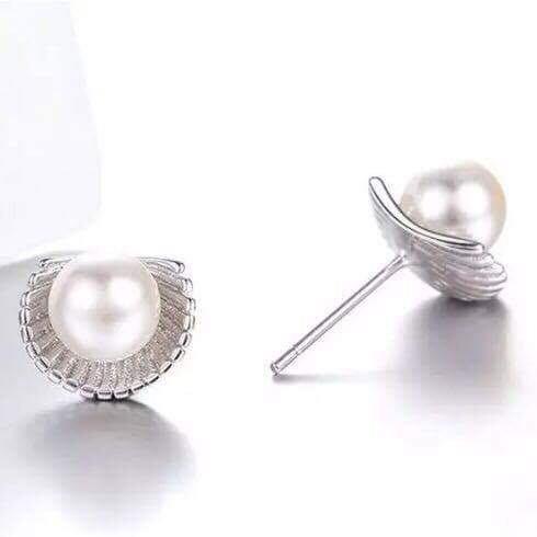 plata joyería aretes