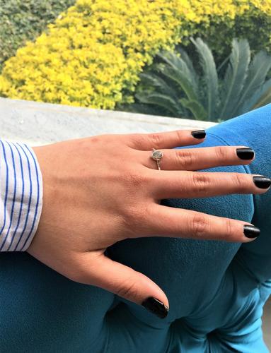plata opalo anillo