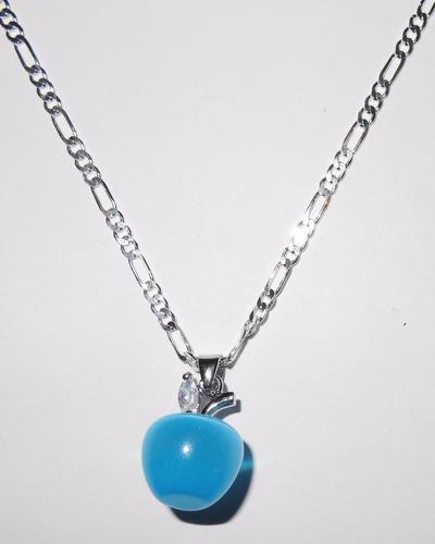 plata opalo joyas cadena