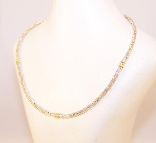 plata oro cadena