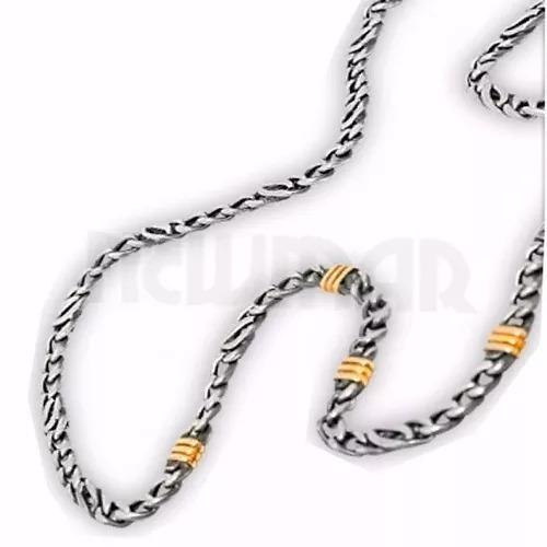 plata oro cadenas
