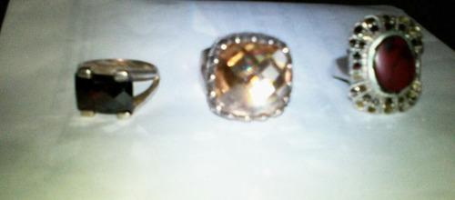 plata plata anillos